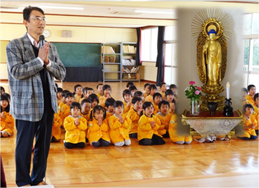 仏教保育(のの様参り)