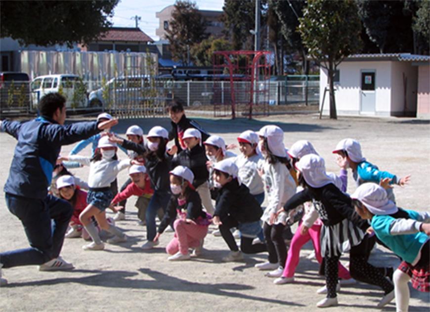 ひかり幼稚園園庭